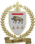 DAMOURS Family Crest