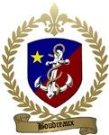BOUDREAUX Family Crest