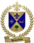 DESJARDINS Family Crest