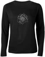 Woodcut Roses Women's Clothing
