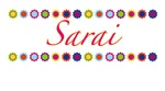 Sarai with Flowers