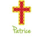 Patrice Bubble Cross