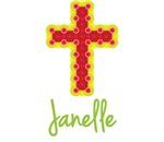 Janelle Bubble Cross