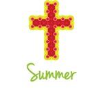 Summer Bubble Cross