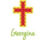 Georgina Bubble Cross