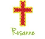 Rosanne Bubble Cross