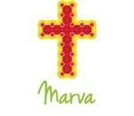 Marva Bubble Cross