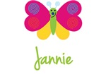 Jannie The Butterfly