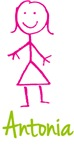 Antonia The Stick Girl