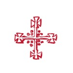 Pretty red christian cross 4 L d