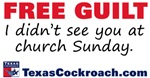 Free Guilt: Church Sunday