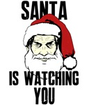 Big Brother Santa Claus Is Watching You