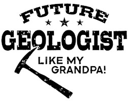 Future Geologist Like My Grandpa t-shirt