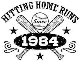 Baseball Birthday 1984 t-shirts