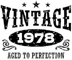 Vintage 1978 t-shirts