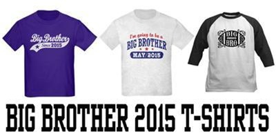 Big Brother 2015 t-shirts