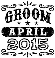 Groom April 2015  t-shirt