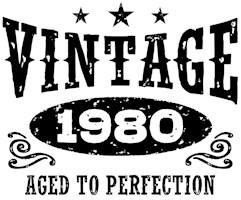 Vintage 1980 t-shirts