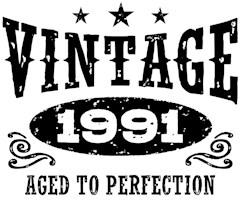 Vintage 1991 t-shirts