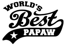 World's Best PaPaw t-shirts