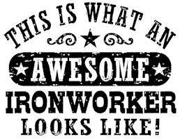 Awesome Ironworker t-shirt