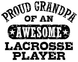 Proud Lacrosse Grandpa t-shirts