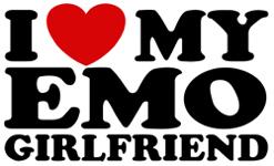 I love My Emo Girlfriend t-shirt