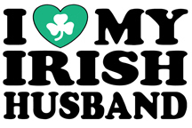 I Love My Irish Husband t-shirts