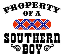 Property of a Southern Boy t-shirts