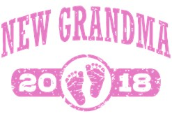 New Grandma 2018 t-shirt