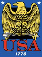 USA Eagle 1776 t-shirt