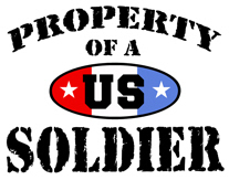 Property of a US Soldier t-shirt