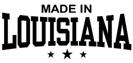Made in Louisiana t-shirts