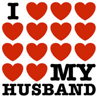 I Love My Husband t-shirt