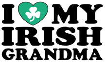 I Love My Irish Grandma t-shirts