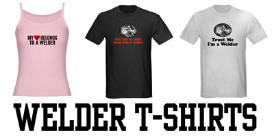 Welder t-shirts and gifts