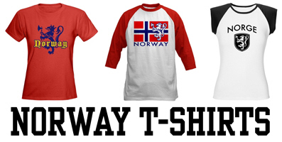 Norway t-shirts and gifts