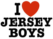 I Love Jersey Boys t-shirt