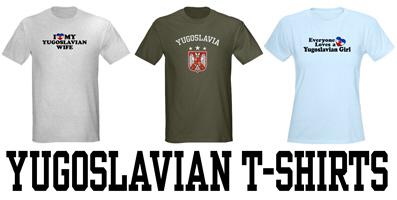 Yugoslavian t-shirts
