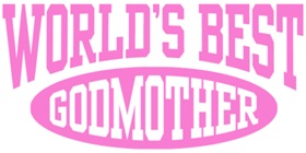 World's Best Godmother t-shirt