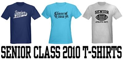 Senior Class 2010 t-shirts