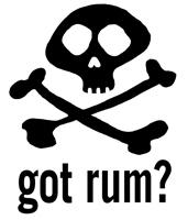 got rum? t-shirts