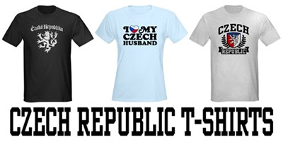 Czech Republic t-shirts