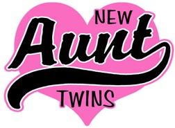 New Aunt Twins t-shirt
