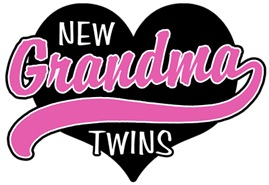New Grandma Twins t-shirt