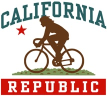 California Cycling Female t-shirts