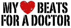 My Heart Beats For A Doctor t-shirts