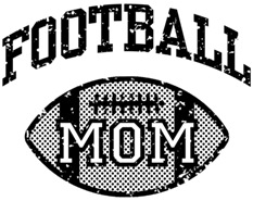 Football Mom t-shirt