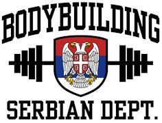 Serbian Bodybuilder t-shirt