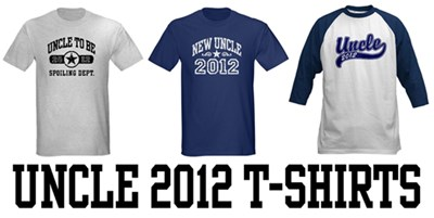 Uncle 2012 t-shirts